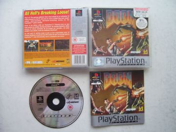DOOM  PS1 / 2  By Midway ID 1993